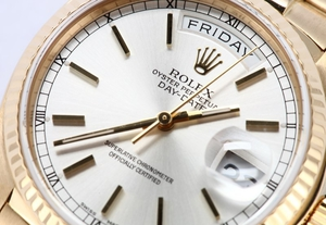 Yellow Gold Rolex President Day-Date 18038