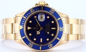 18K Gold Rolex Submariner 16618