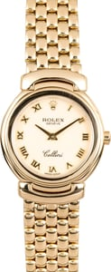 Ladies Rolex Cellini 6621 Gold