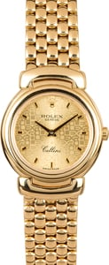 Ladies Rolex Cellini 6621/8 Gold