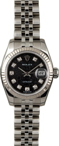 Rolex Lady Datejust 179174 Black Diamond