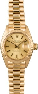 Used Rolex Datejust 6917 Champagne Dial