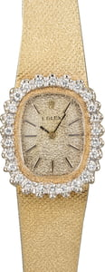 Ladies Vintage Rolex Diamond Cocktail Watch