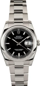 New Model Datejust 116200 Certified Pre Owned
