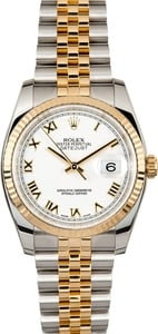 Rolex Datejust 116233 White Roman