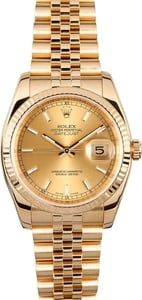 Men's 18k Datejust 116238
