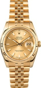Rolex Datejust 116238 Yellow Gold Jubilee