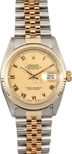 Men's Datejust 16013 Two-Tone Rolex