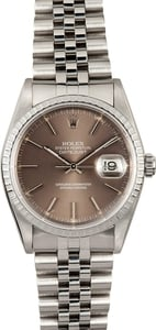 Rolex Men's Datejust 16220 Stainless Steel