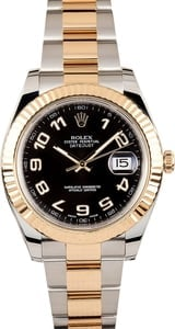 Used Rolex Datejust II Ref 116333 Black Arabic Dial