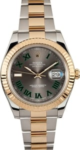 Rolex Datejust II 116333 Green Roman