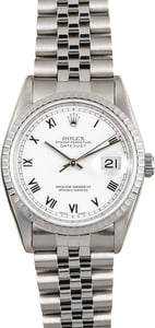TT Men's Rolex Datejust Stainless Steel TT