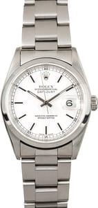 Men's Rolex Datejust Stainless Steel Watch 16200