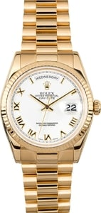 Rolex President 18K Gold Day-Date 118238