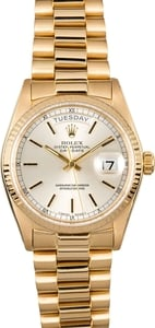 Pre-Owned Rolex President Reference 18038