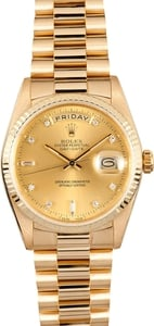 Rolex President Diamond Day-Date 18238