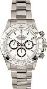 Rolex Daytona Stainless Steel 16520 White