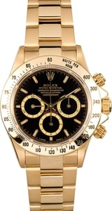 Rolex Daytona 18k Yellow Gold 16528