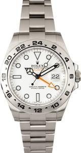 Rolex Explorer White 216570