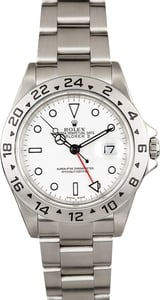 Men's Rolex Explorer II 16570T White