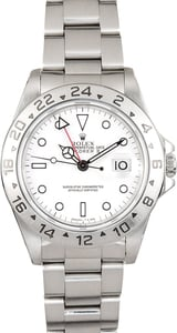 Men's Rolex Explorer II Men's Stainless Steel 16570 TT