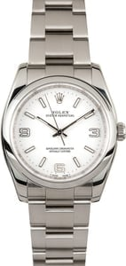 Rolex Oyster Perpetual 116000 White Dial