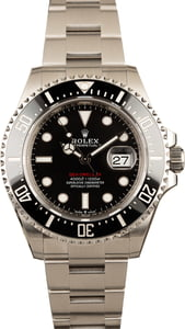 Rolex Sea-Dweller Red Lettering Dial 126600