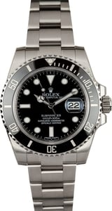 Rolex Submariner Black Ceramic Dial