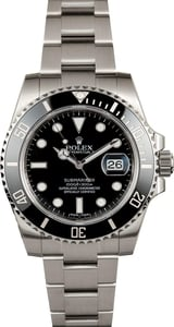 Rolex Black Submariner 116610