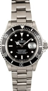 Submariner Rolex 16610 Stainless Steel