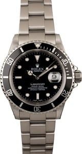 Rolex Pre-owned Submariner 16610 Diving Watch