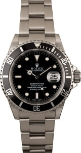 Rolex Pre-owned Submariner 16610 Diver's Watch