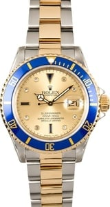 Men's Rolex Serti Dial Submariner