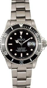 Rolex Submariner 16800 Stainless Steel