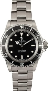Vintage Rolex Submariner Late Model 5513