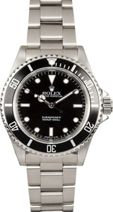 Men's Rolex Submariner No Date Model 14060