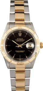 Rolex Datejust Thunderbird 16263 Black