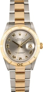 TT Men's Rolex Thunderbird DateJust Stainless Steel and Gold