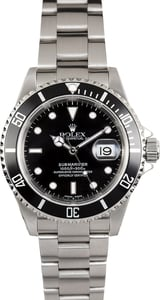 Mens Used Rolex Submariner 16610 Pre-Owned