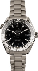 PreOwned Omega Seamaster Planet Ocean 600M Co-Axial GMT Ceramic Bezel
