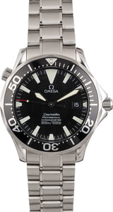 PreOwned Omega Seamaster Pro Chronometer 300M Black Wave Dial