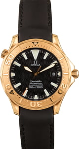 PreOwned Omega Seamaster Red Gold Case