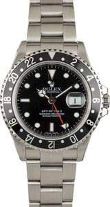 Used Rolex GMT Master II Ref 16710 Black Dial