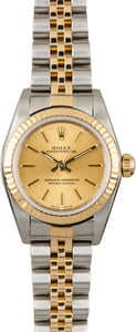 PreOwned Rolex Oyster Perpetual 76193 Two Tone