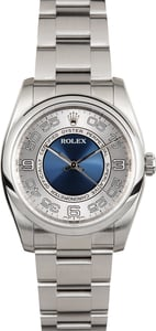 Rolex Oyster Perpetual 116000 Concentric Blue