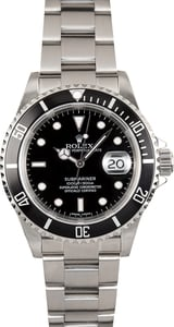 Oyster Perpetual Rolex 16610 Submariner