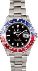 Rolex GMT-Master II 16710 Pepsi Bezel Stainless