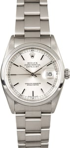 TT Pre-Owned Men's Rolex Datejust Stainless Steel Watch 16200
