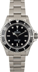 Rolex Submariner 14060 No Date Certified PreOwned