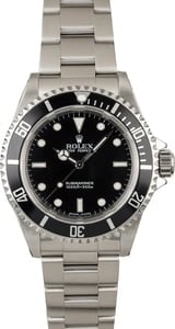 Used Rolex 14060M No Date Submariner Dive Watch